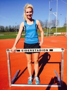 Aktuell bereits mit 4 persönlichen Bestleistungen erfolgreich unterwegs, Lena Timm, SG Athletico Büdelsdorf, Frauen-Hauptklasse.